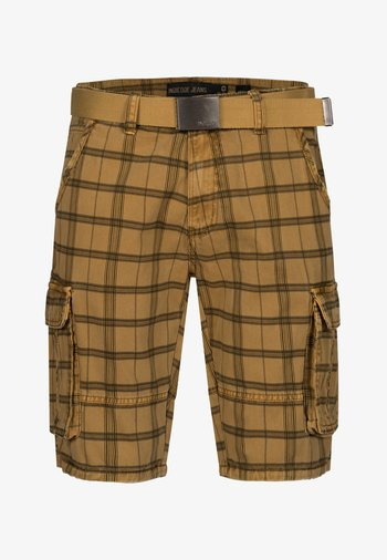BLIXT - Shorts - amber check