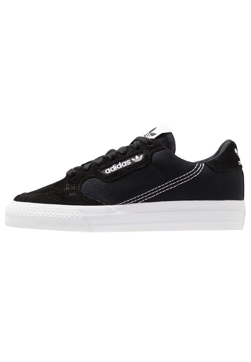 adidas Originals - CONTINENTAL VULC  - Zapatillas - cblack/ftwwht/cblack