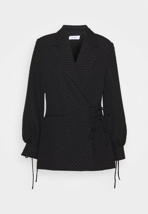 SASKIA - Short coat - black
