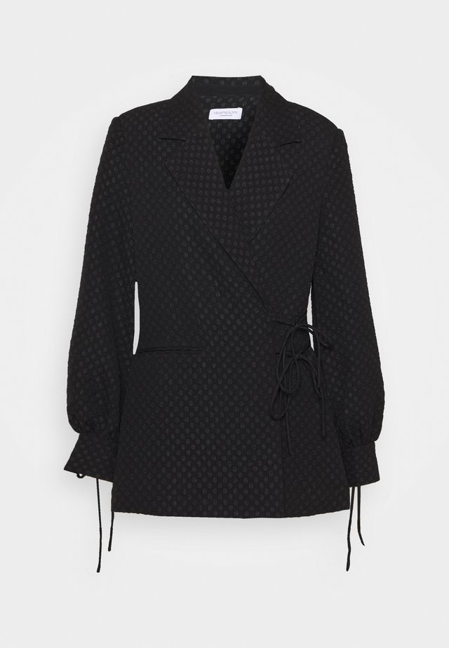 SASKIA - Manteau court - black
