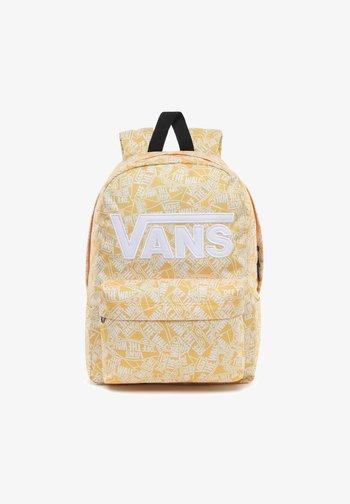 School bag - white-lemon chrome
