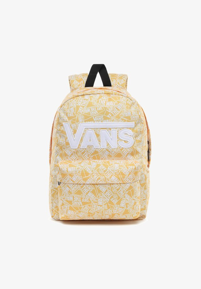 UY NEW SKOOL BACKPACK BOYS - Zaino - white-lemon chrome