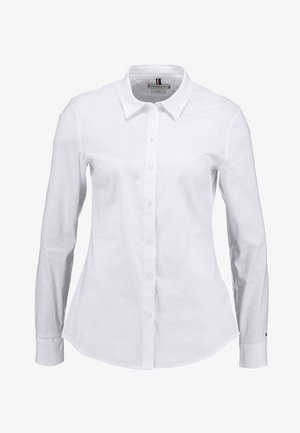 HERITAGE SLIM FIT - Button-down blouse - classic white