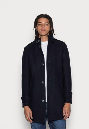 FUNNEL NECK COAT - Cappotto classico - dark blue