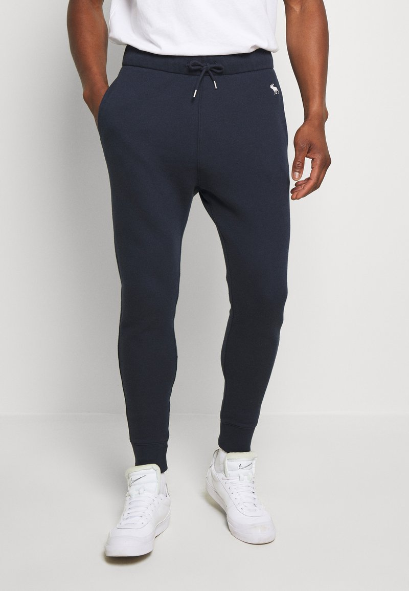 Abercrombie & Fitch - ICON - Tracksuit bottoms - navy
