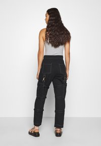 The Ragged Priest - PANT WITH TRIGGERS - Pantaloni - black - 2