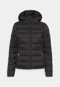 ONLY - ONLSANDIE QUILTED HOOD JACKET - Light jacket - black - 5