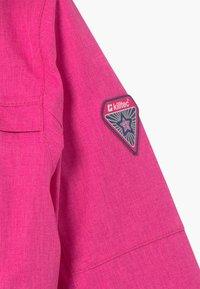 Killtec - OVERALL MINI - Snowsuit - neon pink - 5