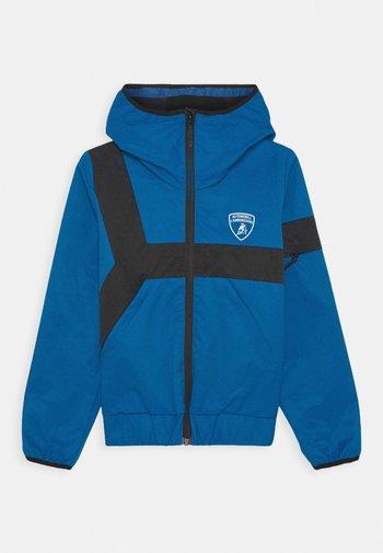 CONTRAST DETAIL JACKET - Light jacket - blue eleos