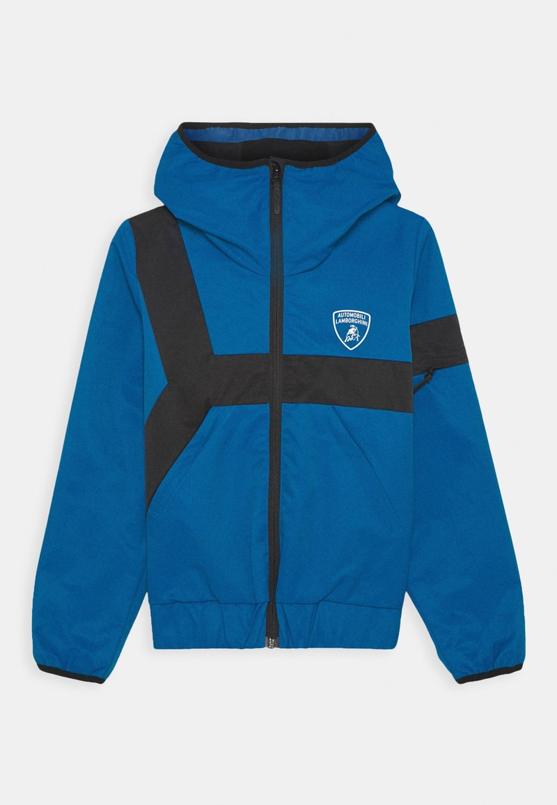 Automobili Lamborghini Kidswear - CONTRAST DETAIL JACKET - Light jacket - blue eleos