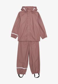 Name it - NKNDRY RAIN SET - Pantalones impermeables - wistful mauve - 4
