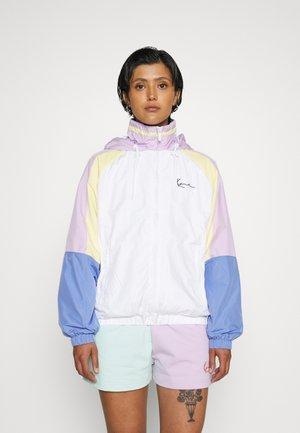 SIGNATURE BLOCK TRACKJACKET - Training jacket - white