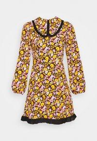 Topshop - COLLAR FLORAL MINI DRESS - Day dress - multicolor - 4
