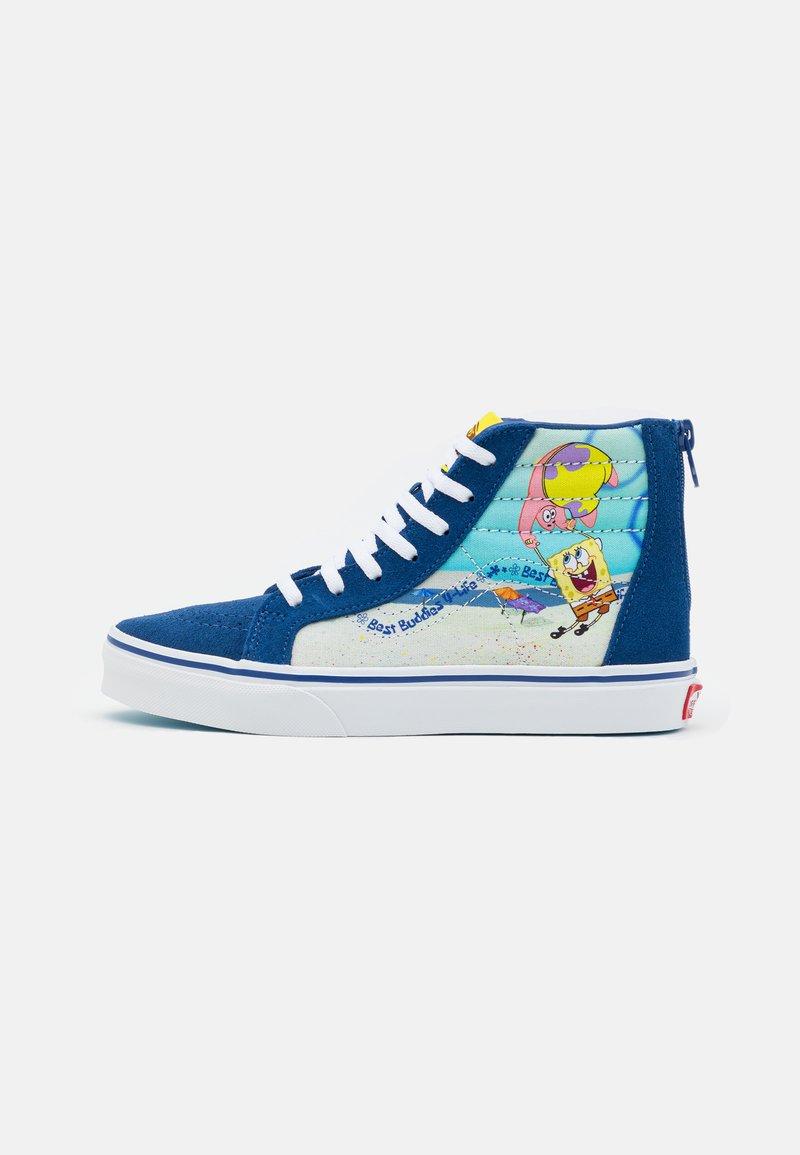 Vans - UY VANS X SPONGEBOB SK8-HI ZIP UNISEX - High-top trainers - dark blue/multicolor
