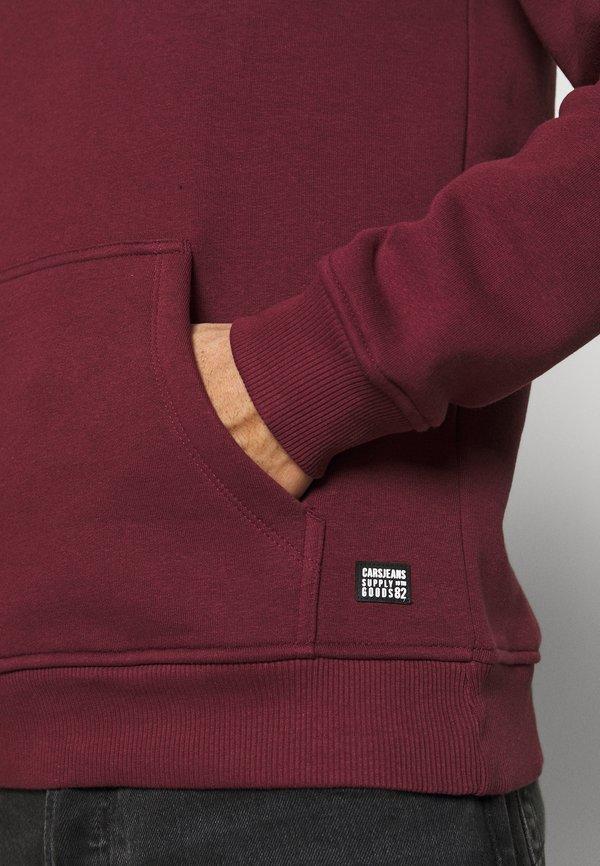 Cars Jeans KIMAR HOOD - Bluza z kapturem - bordeaux/bordowy Odzież Męska CAPS