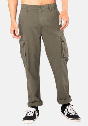 Pantalon cargo - rifle green