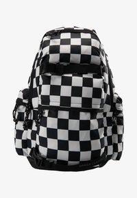 BACKPACK CHECKER BLACK & WHITE - Rucksack - black/white
