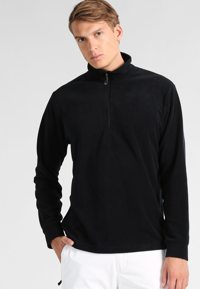MAN - Fleece jumper - nero