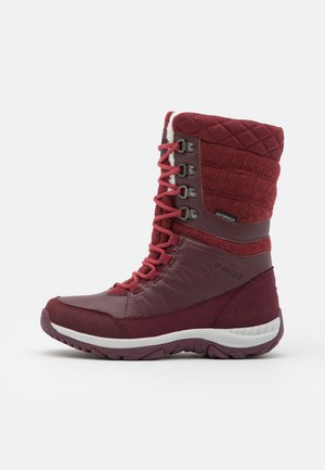 RIVA WP - Winter boots - burgundy/light burgundy