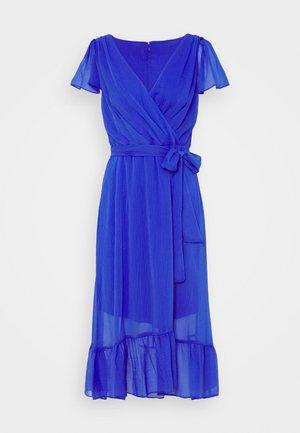 FLUTTER SLEEVE - Day dress - iris