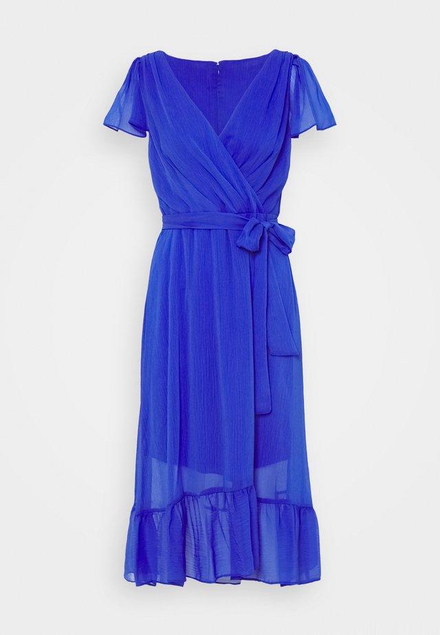 FLUTTER SLEEVE - Robe d'été - iris