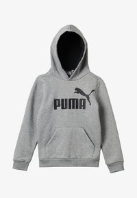 Puma - LOGO HOODY  - Mikina s kapucí - medium gray heather - 3