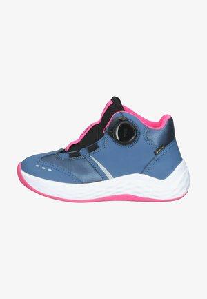Sneakers hoog - blau/rosa