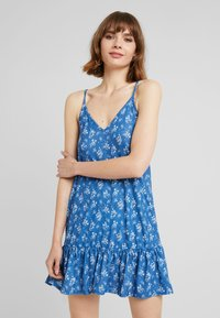 Nly by Nelly - IN YOUR DREAMS DRESS - Jersey dress - blue - 0