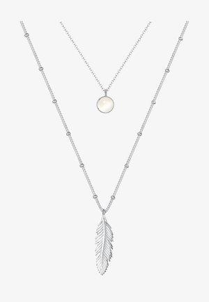 FEDER MONDSTEIN LAYER LOOK  - Halsband - silver coloured