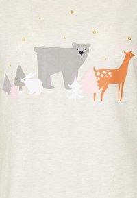 Dorothy Perkins - WOODLAND ANIMAL FOLDED - Pyžamová sada - oatmeal - 5