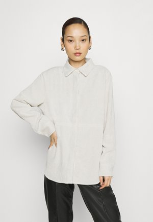 CORY - Button-down blouse - whitecap gray