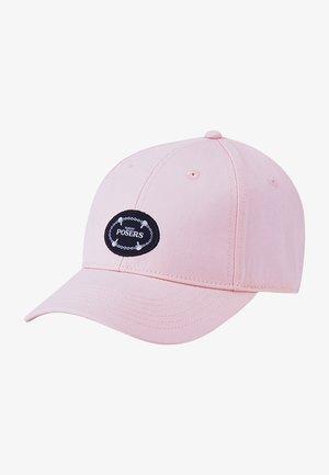 Cap - pale pink/mc