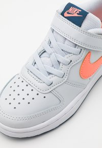 Nike Sportswear - COURT BOROUGH - Trainers - pure platinum/atomic pink/valerian blue/white - 5