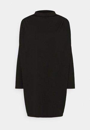 LINENE - Jersey dress - schwarz