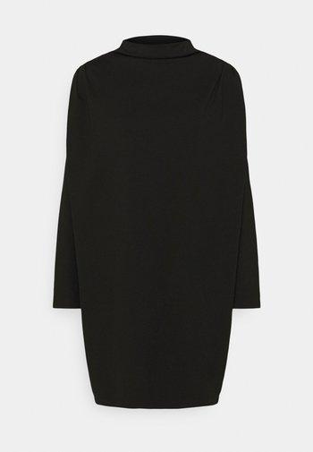 LINENE - Jerseyklänning - schwarz