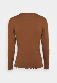 Object Petite - OBJJAMIE TOP  - Long sleeved top - partridge - 1