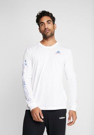 LINEAGE - Pitkähihainen paita - white