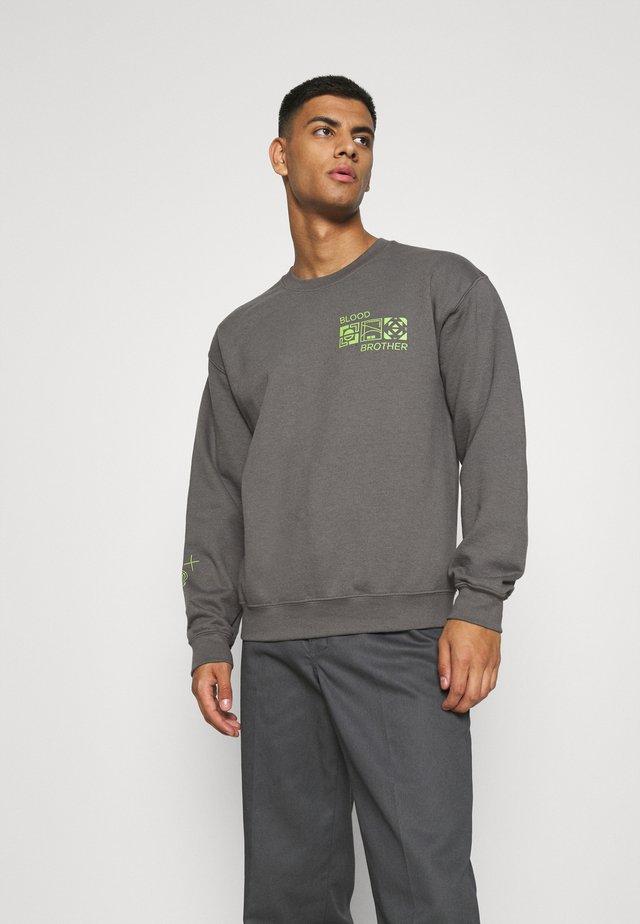 ASTORIA FREQUENCY BRANDED LOGO UNISEX - Sweatshirt - grey