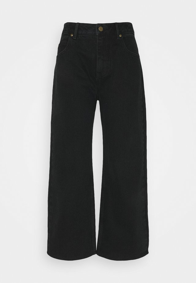 KENDALL - Džíny Straight Fit - washed black