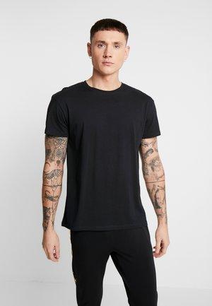 JORPLAYBOY TEE CREW NECK - T-shirt med print - black