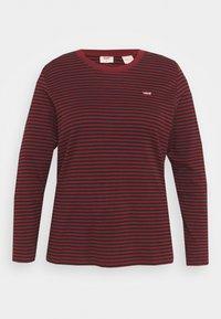 Levi's® Plus - LONG SLEEVE BABY TEE - Long sleeved top - brown - 3