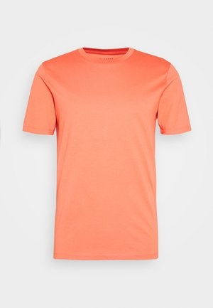 SLHTHEPERFECT ONECK TEE  - Basic T-shirt - coral
