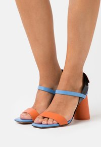 MAX&Co. - ACCORATO - High heeled sandals - midnight blue - 0