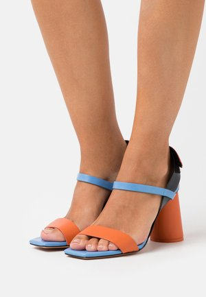 ACCORATO - High heeled sandals - midnight blue