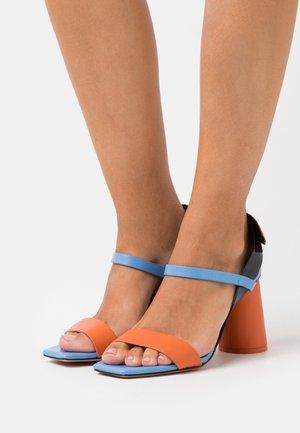 ACCORATO - Sandály na vysokém podpatku - midnight blue