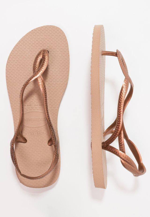 LUNA - Pool shoes - rose gold