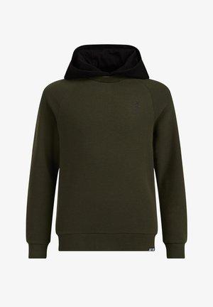 STRUCTUUR  - Hoodie - dark green