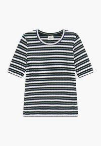Mads Nørgaard - DREAM STRIPE TUVIANA - Camiseta estampada - navy - 0