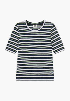 DREAM STRIPE TUVIANA - Print T-shirt - navy