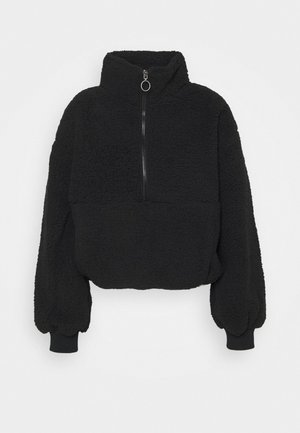 TIME OFF - Fleece jumper - black
